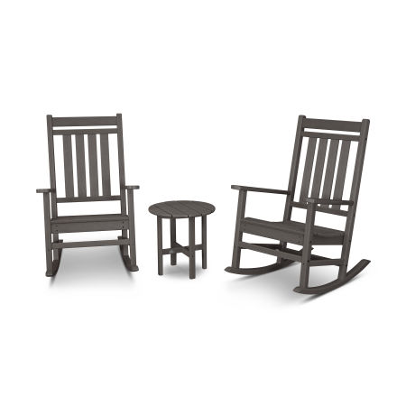 Estate 3-Piece Rocking Chair Set in Vintage Finish