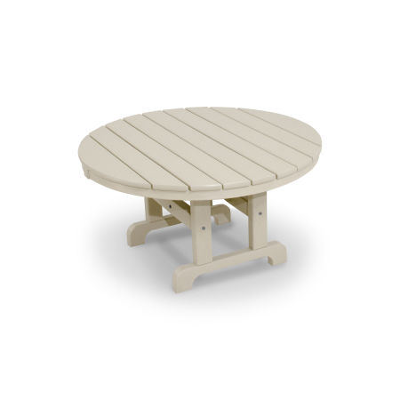 "Classics Round 36"" Conversation Table in Sand"