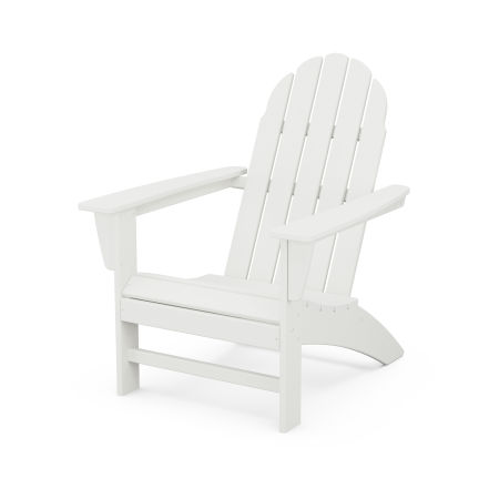 Vineyard Adirondack Chair in White