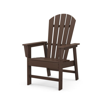South Beach Casual Chair in Mahogany