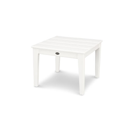 "Newport 22"" End Table in White"
