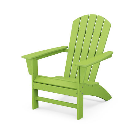 Nautical Adirondack Chair in Lime