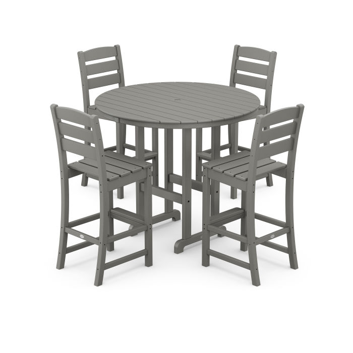 Lakeside 5-Piece Round Bar Side Chair Set