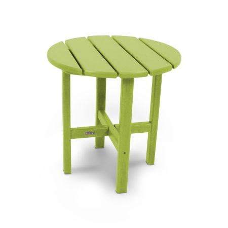 """18"""" Round Side Table by Ivy Terrace™ in Lime"""