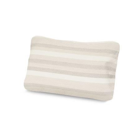Outdoor Lumbar Pillow in Latitude Vapor