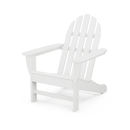 Classic Adirondack Chair in White