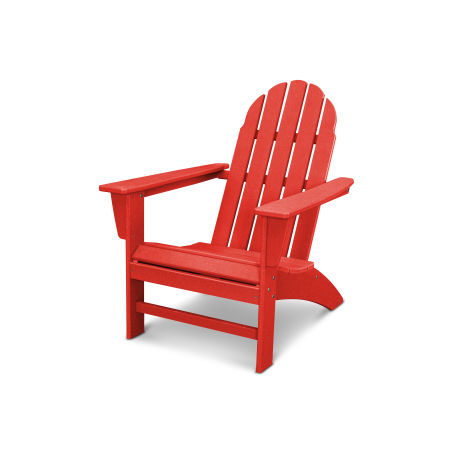 Vineyard Adirondack Chair in Vintage Sunset Red