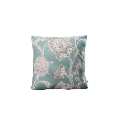 "18"" Outdoor Throw Pillow in Botanical Gardens Spearmint"