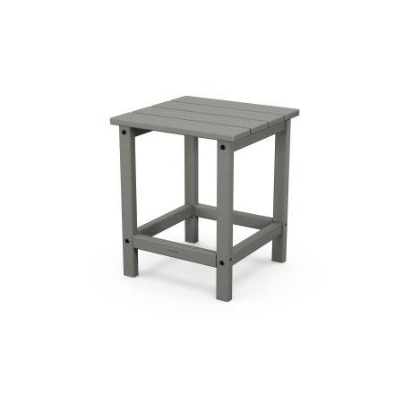 """Long Island 18"""" Side Table in Slate Grey"""