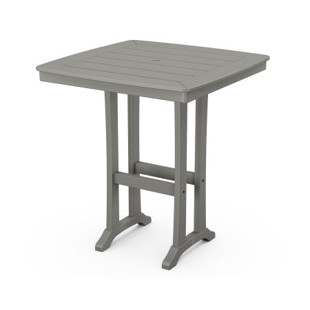 "Nautical Trestle 37"" Bar Table"