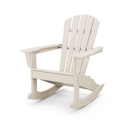 Palm Coast Adirondack Rocking Chair in Sand