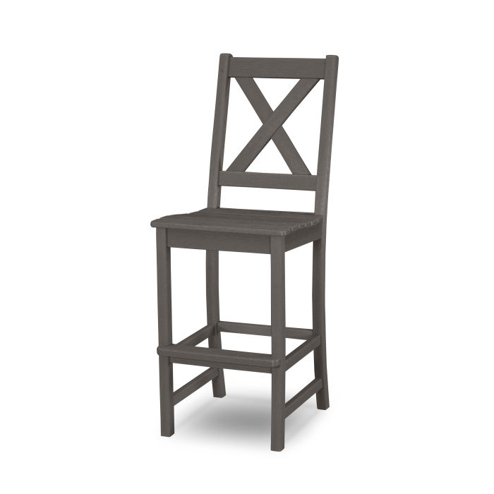 Braxton Bar Side Chair in Vintage Finish