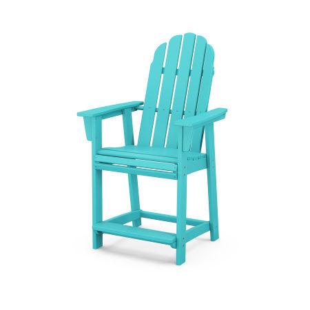 Vineyard Adirondack Counter Chair in Aruba
