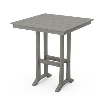 "Farmhouse Trestle 37"" Bar Table"