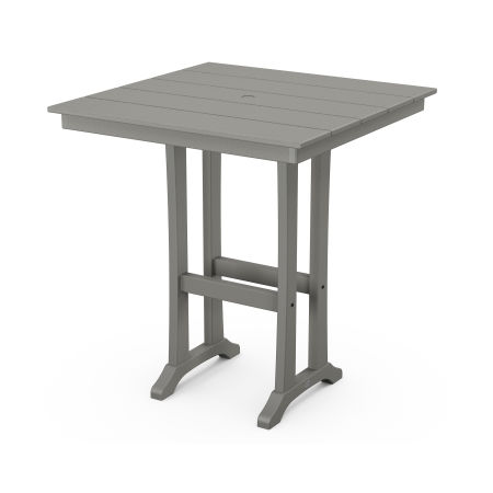 "37"" Bar Table in Slate Grey"