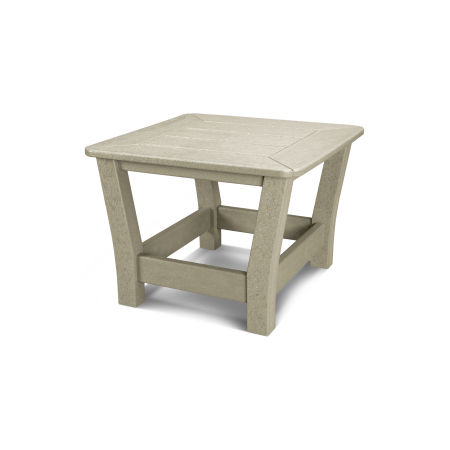 Harbour Slat Side Table in Sand