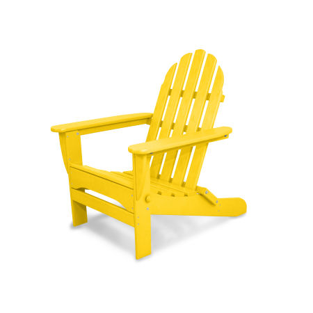 Classics Folding Adirondack in Lemon