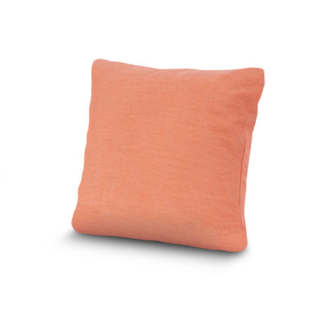 "20"" Outdoor Throw Pillow by POLYWOOD® in Cast Coral"