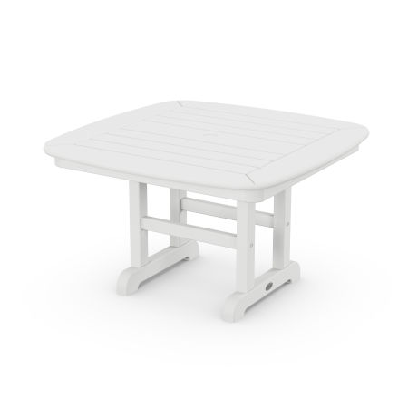 """Nautical 31"""" Conversation Table in White"""