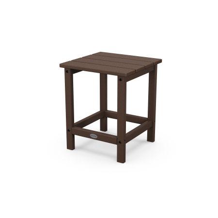 "Long Island 18"" Side Table in Mahogany"