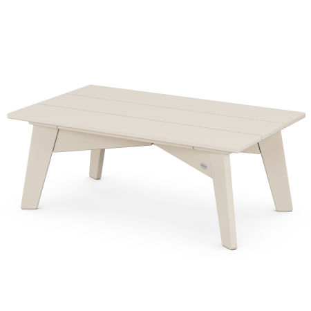 Riviera Modern Coffee Table in Sand