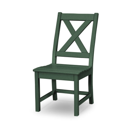 Braxton Dining Side Chair in Green