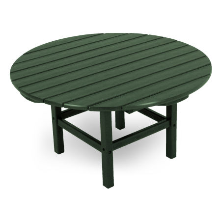 """Round 38"""" Conversation Table by Ivy Terrace in Green"""