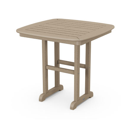 """Nautical 31"""" Dining Table in Vintage Sahara"""