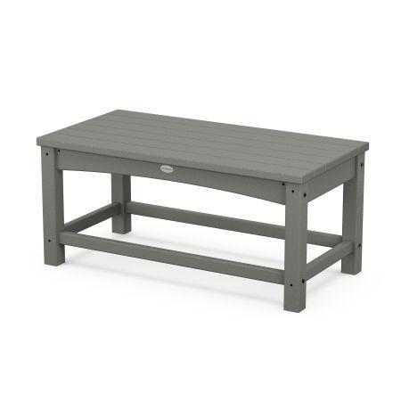 Club Coffee Table in Slate Grey