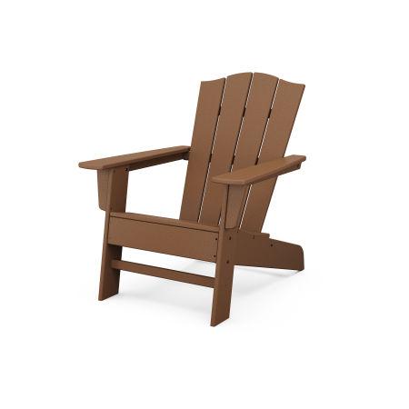 The Crest Chair in Teak