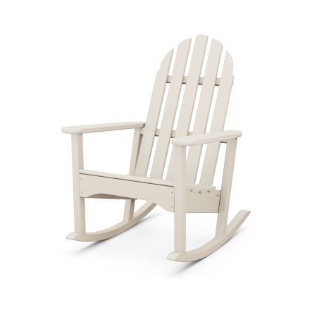 Classic Adirondack Rocking Chair in Sand