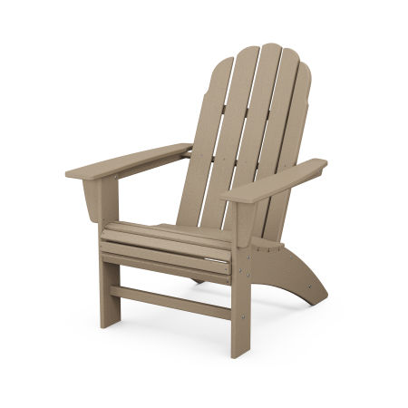 Vineyard Curveback Adirondack Chair in Vintage Sahara
