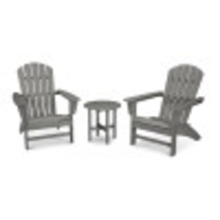 Nautical 3-Piece Adirondack Set