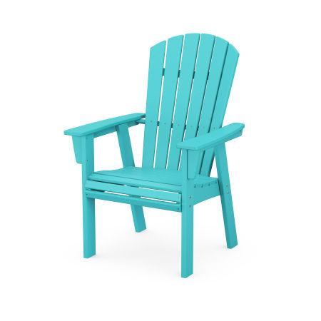 Nautical Adirondack Dining Chair in Aruba