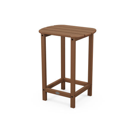 """26"""" Counter Side Table in Teak"""