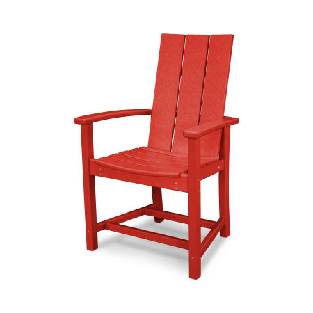 MOD Adirondack Dining Chair in Sunset Red