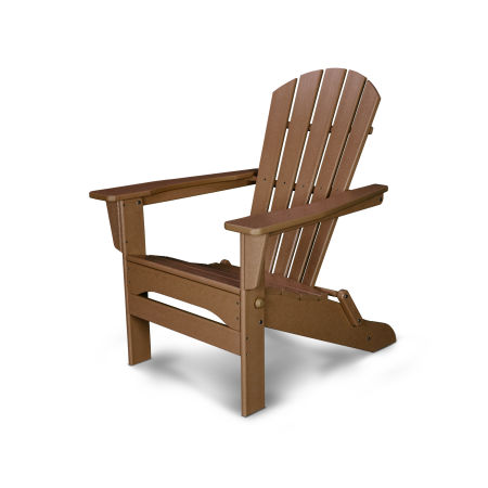 Palm Coast Folding Adirondack in Teak