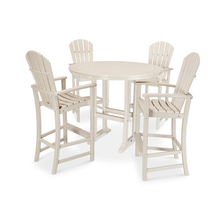 5 Piece Palm Coast Bar Set in Sand