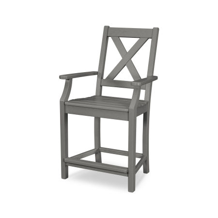 Braxton Counter Arm Chair