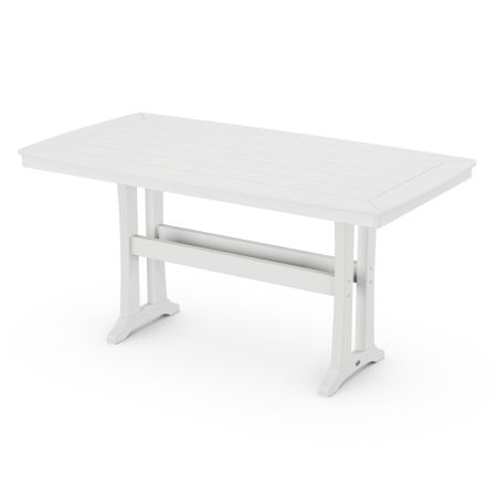 Counter Table in White