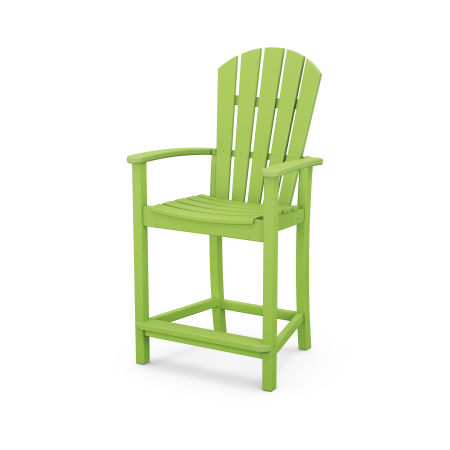 Palm Coast Counter Chair in Lime