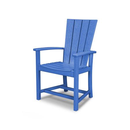 Quattro Adirondack Dining Chair in Pacific Blue