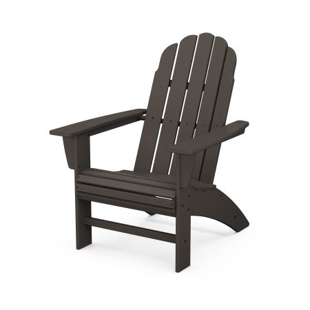 Vineyard Curveback Adirondack Chair in Vintage Finish