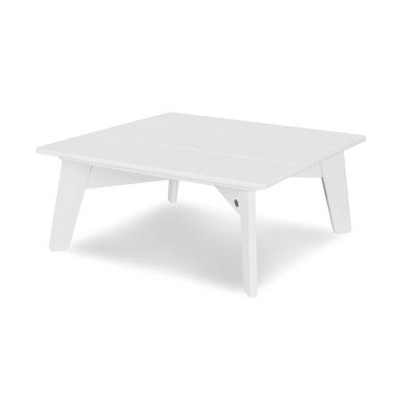 Riviera Modern Conversation Table in White