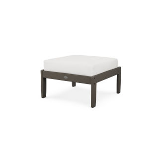 Braxton Deep Seating Ottoman in Vintage Finish