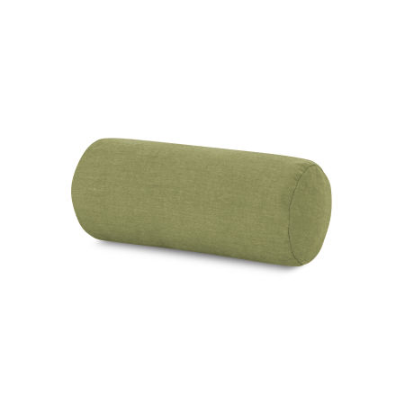 Outdoor Bolster Pillow in Cast Moss