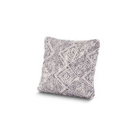 "16"" Outdoor Throw Pillow by POLYWOOD® in Leona Indigo"