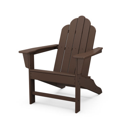 Long Island Adirondack in Mahogany