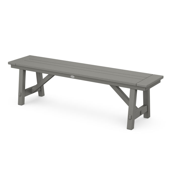 "Rustic Farmhouse 60"" Backless Bench"