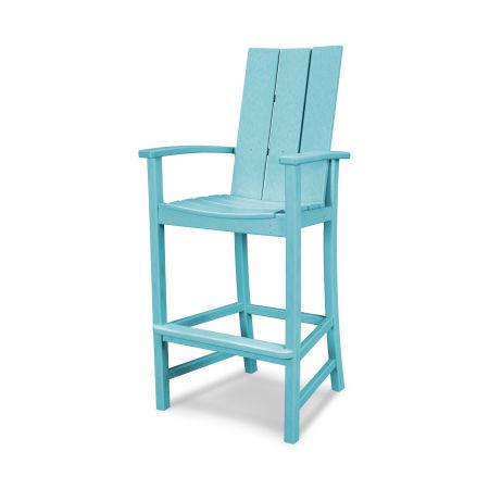Modern Adirondack Bar Chair in Aruba